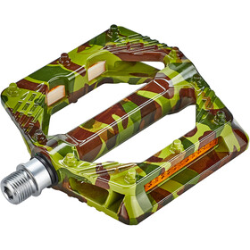Red Cycling Products Light Platform Pedals camo